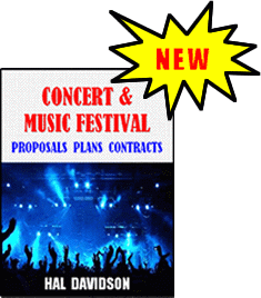 Concert & Music Festival Book Cover